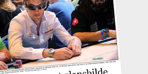 Petter Northug jr ved pokerbordet