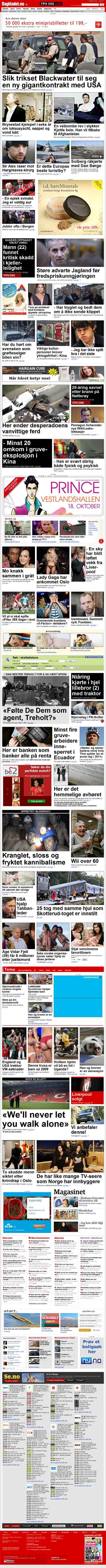 Dagbladet.no lørdag 16. oktober 2010