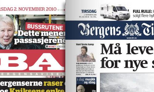 Bergensavisen og Bergens Tidende