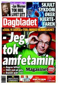 Dagbladets førsteside lørdag 27. november 2010