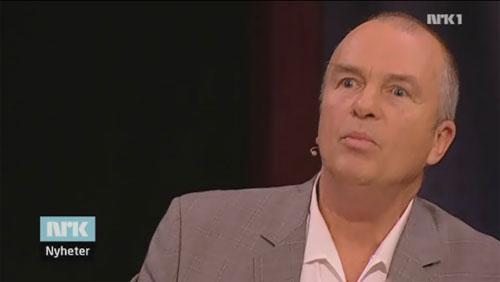Hans Rustad i NRKs Debatten torsdag 4. november 2010