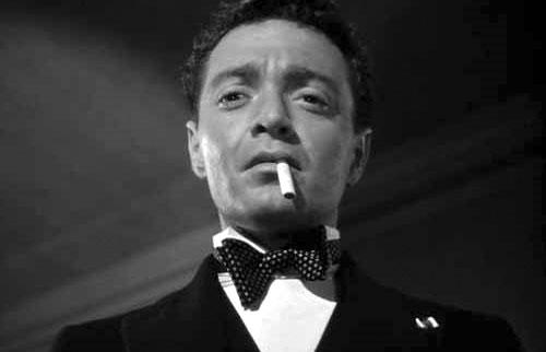 Peter Lorre i rollen som Mister Cairo, Malterserfalken (1941)