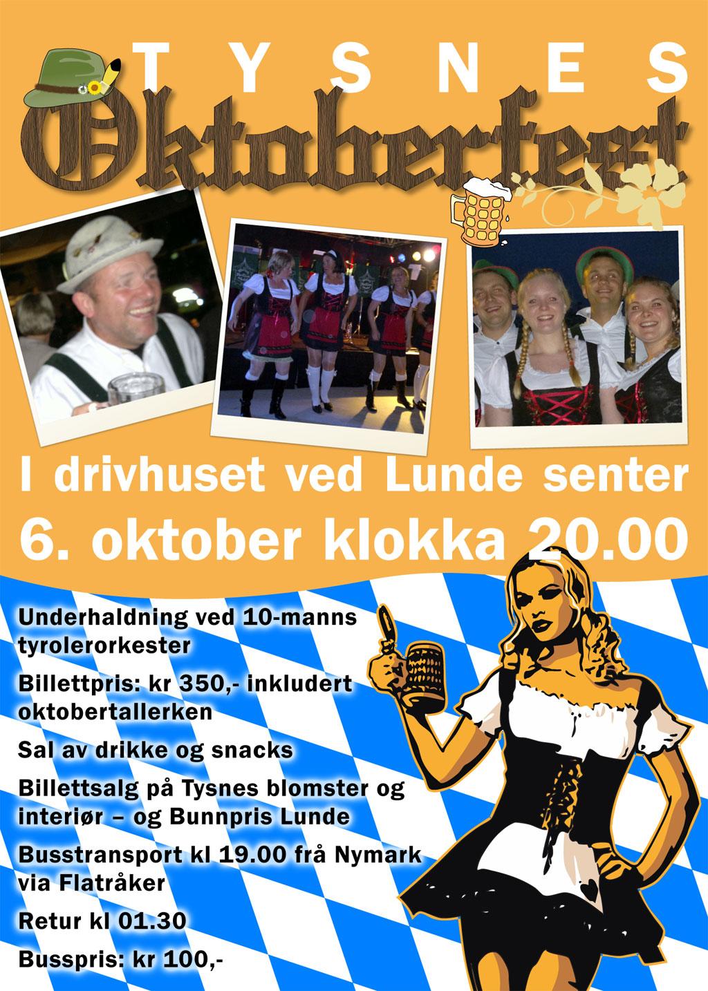 Poster for Oktoberfest 2012