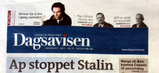 Dagsavisen-header