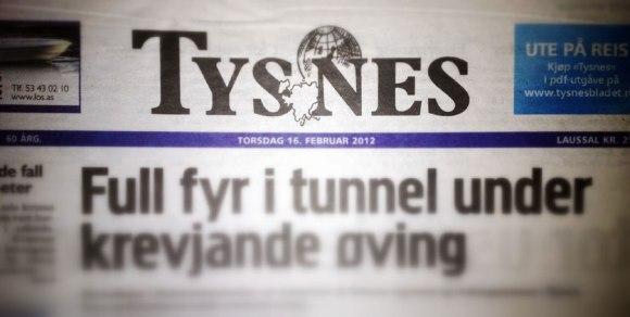 Gammel Tysnes-header