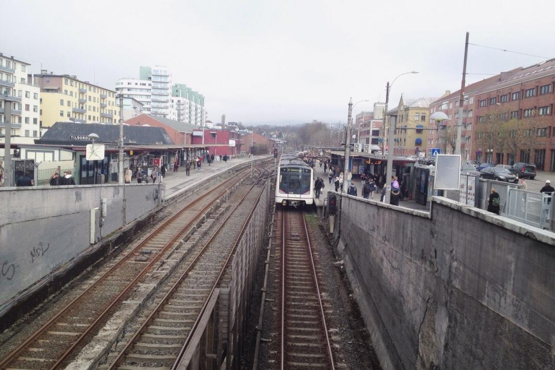 Majorstuen T-banestasjon
