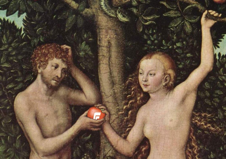 Adam, Eva og eplet Frp Fremskrittspartiet