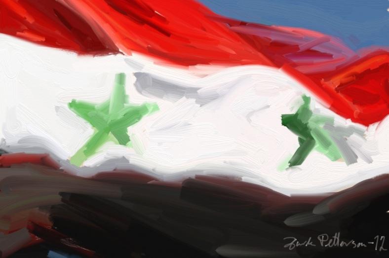 Syrisk flagg