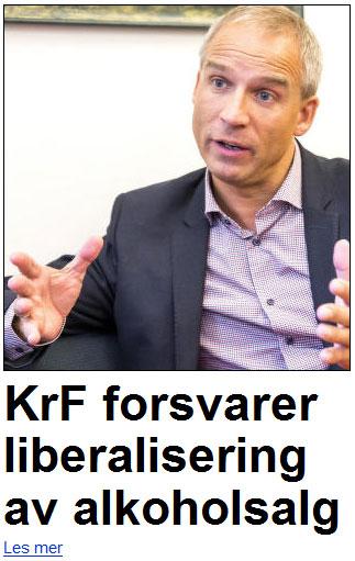 Hans Olav Syversen, KrF