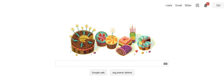 Google-bursdag