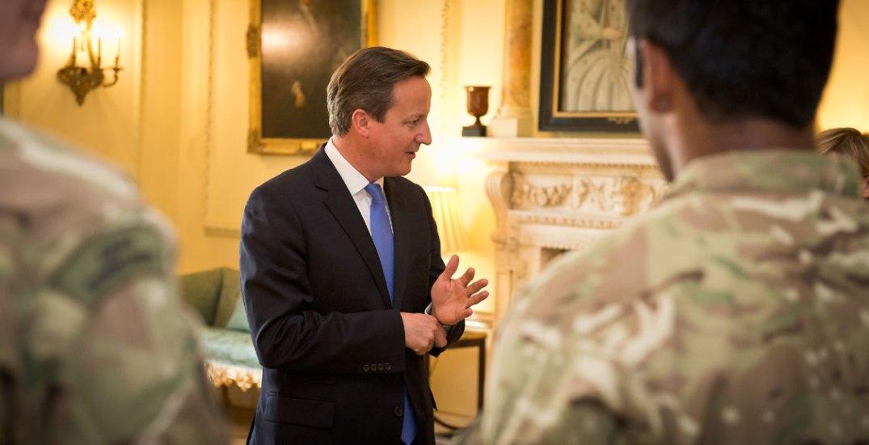 Storbritannias statsminister David Cameron i Downing Street 10. Fotograf: Paul Shaw/Downing Street 10/Flickr