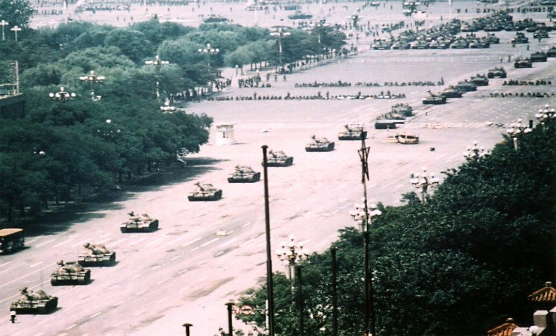 Den himmelske freds plass 4. juni 1989