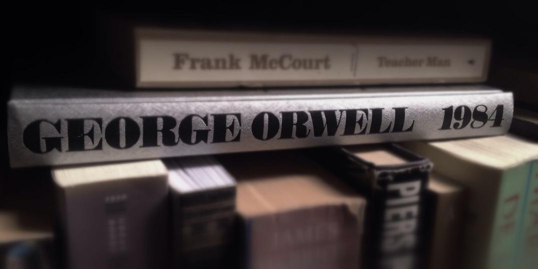 "George Orwells ""1984"". Bloggers foto"