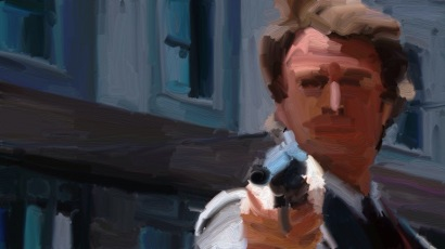 Dirty Harry, i filmen ved samme navn.