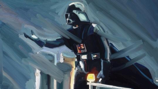 """Dart Vader, """"Star Wars""""."""