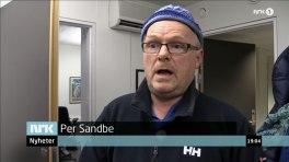 Per Sandberg (Frp). Skjermdump fra Dagsrevyen