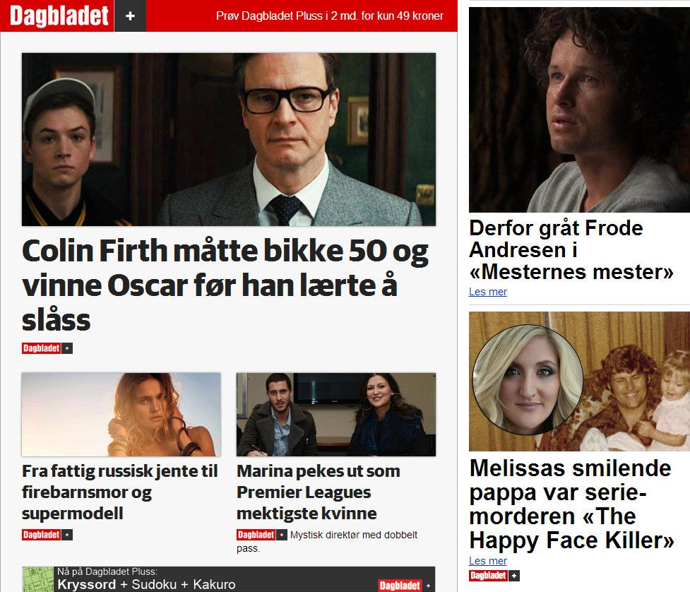 Dagbladet +