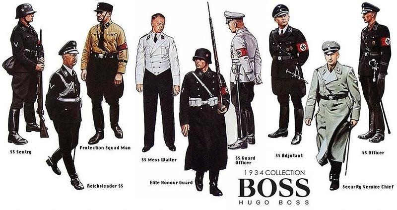 Hugo Boss' 1934-kolleksjon.