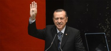 Turkey's president Recep Tayyip Erdoğan. Photograph: Wikipedia.