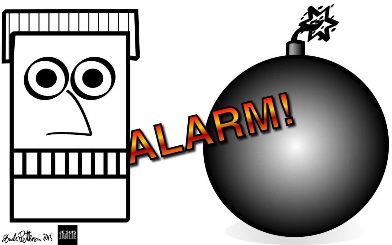 Bombe-alarm