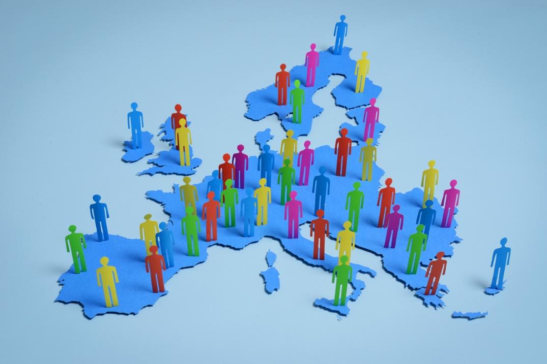 Migrasjon i Europa. Fotograf: Maout Christophe/EU