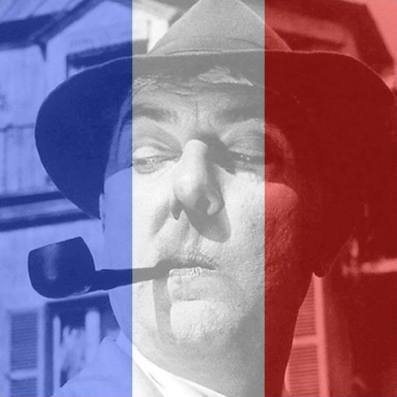 Jacques Tati, i sin fineste, franske skrud – i det som for øyeblikket er denne bloggerens profilbilde i sosiale medier.