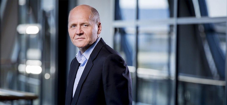 Telenors konsernsjef Sigve Brekke, i et pressefoto fra Telenor-gruppen.