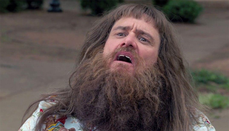 """Jim Carrey i et promobilde fra """"Dumb and Dumber To"""". Foto fra Universal Pictures"""