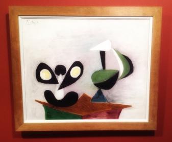 """Nature Morte"", 1939, Pablo Picasso (1881–1973). Olje på lerret, 74 x 60 centimeter."