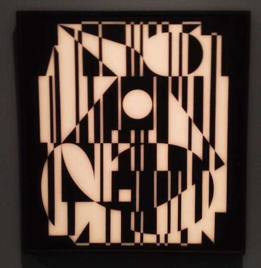 """""""Yony II"""", 1956–59, Victor Vasarely (1906–1997). Olje på lerret, 60 x 65 centimeter."""
