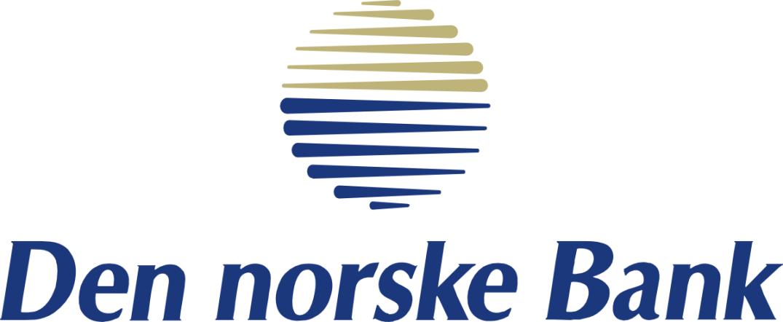 Den norske Bank-logoen av 1990, designet av Sven Skaara, som siden markerte seg med Art-Aid og Scandinavian Design Group.