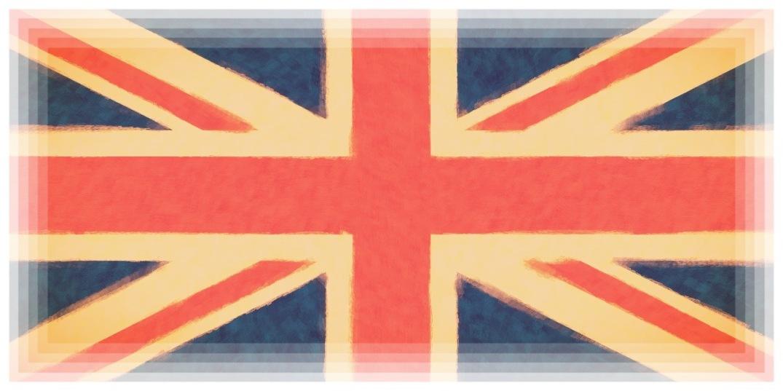 Union Jack. Blogger's illustration.