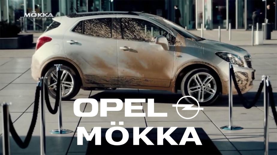Møkka Opel Mokka. Bloggers billedmanipulasjon.