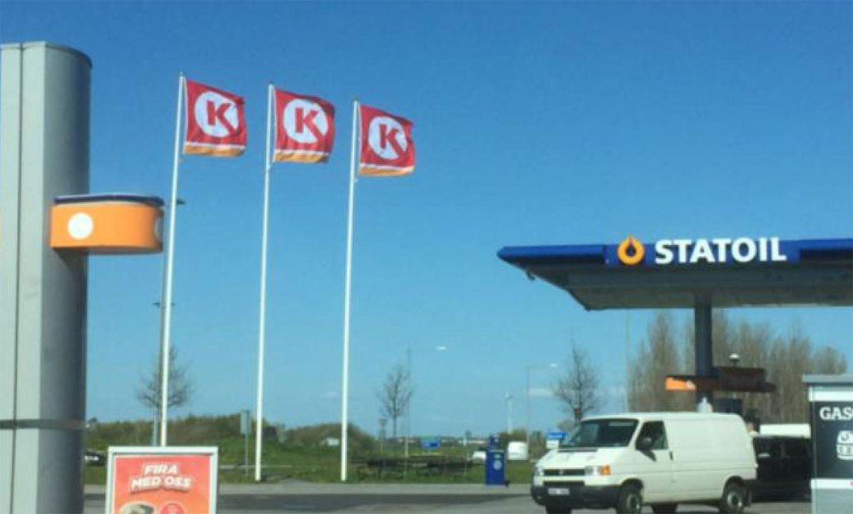 Circle K-flagg