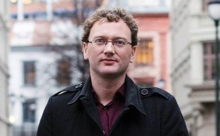 """Peder """"Fjordman"""" Nøstvold Jensen."""