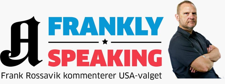 Frankly speaking, Frank Rossavik, Aftenposten