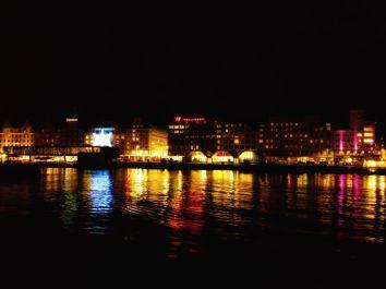 Strandkaien, sett fra Bryggen. Bloggers foto.