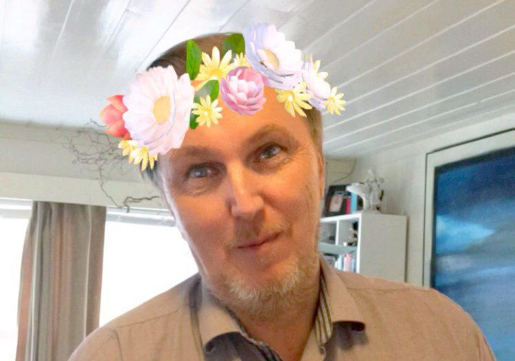 Jarle blomsterkrans