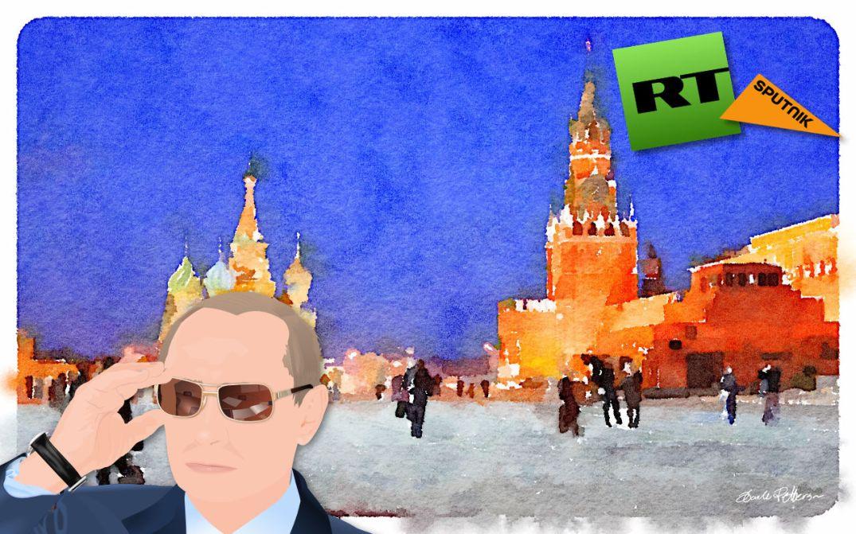 RT Sputnik Russia Kremlin propaganda Vladimir Putin