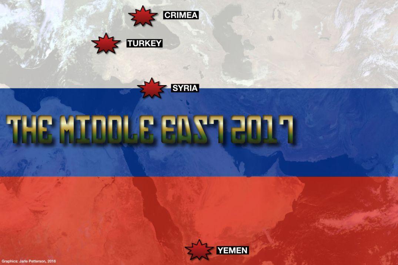Russia Russland Middle East Midtøsten