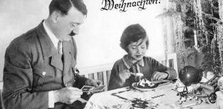 Julekos med onkel Adolf.