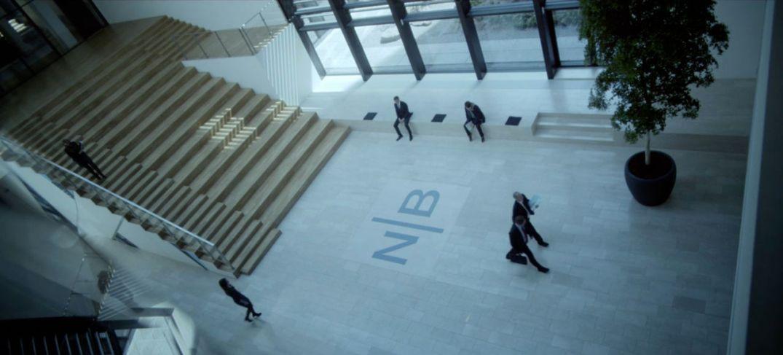 Skurkebanken Nova Bank, i den danske spenningsserien