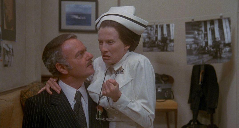 Søster Diesel i Mel Brooks' Høydeskrekk (High Anxiety, 1977).