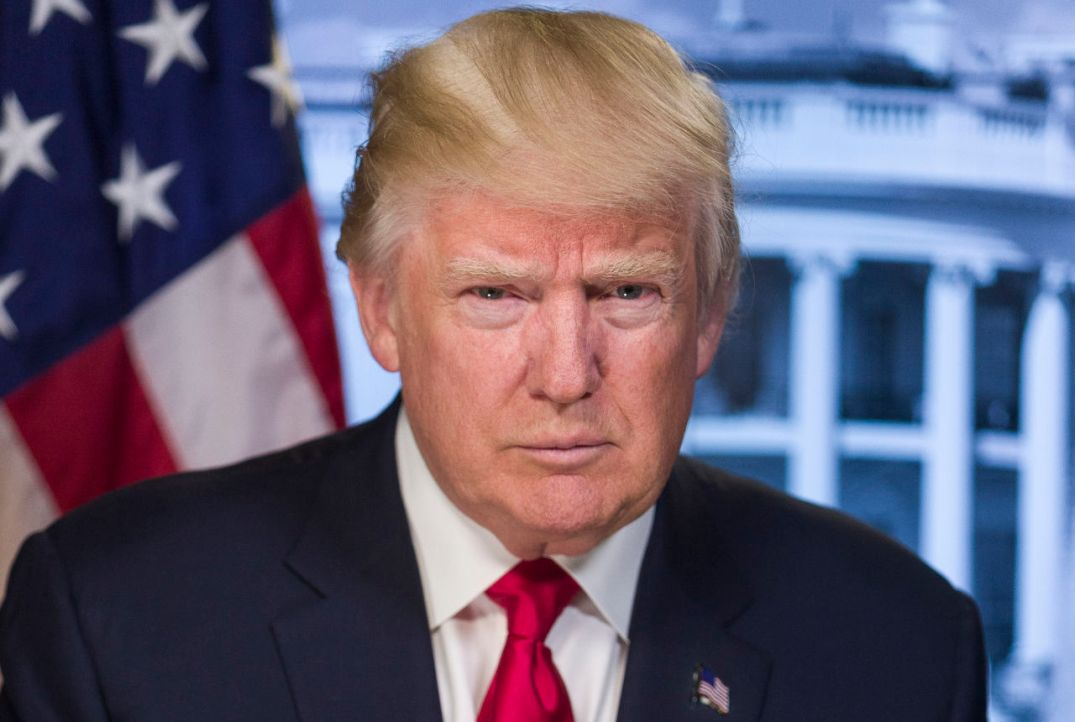 U.S. President Donald Trump. Official White house portrait.