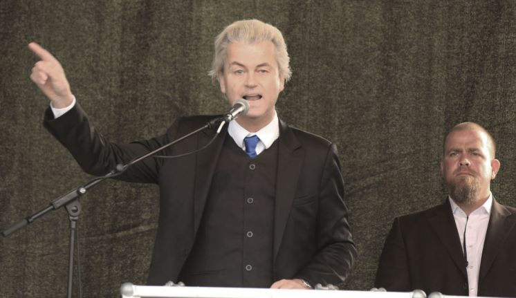 Geert Wilders, founder and leader of the Dutch Party for Freedom. Photo from Metropolico.org's Flickr account.