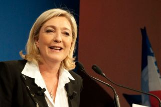 French Front National's presidential candidate Marine Le Pen. Photographer: Rémi Noyon/Global Panorama Flickr account.