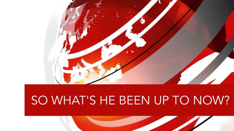 BBC breaking news on Donald Trump.
