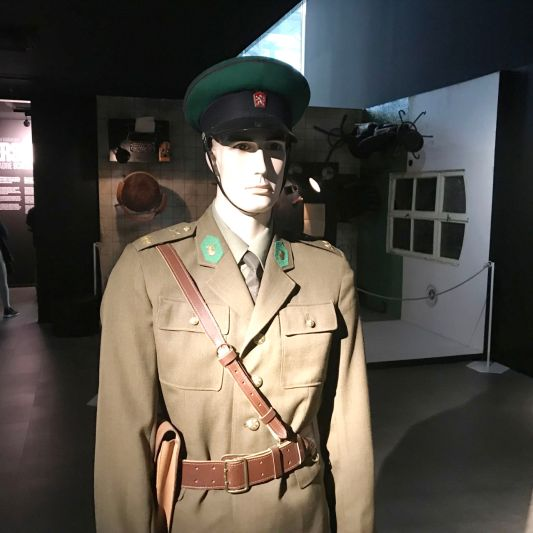 A Czechoslovakian soldier.