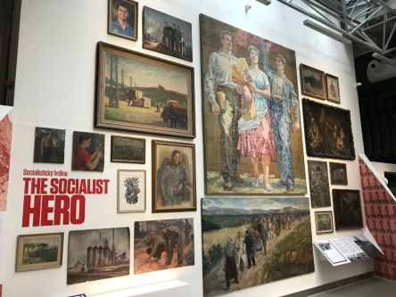 The socialist hero exhibition.