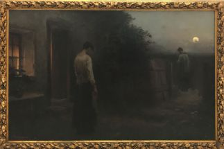 """Last Rites"" (1897). Jakub Schikaneder. Oil on canvas."